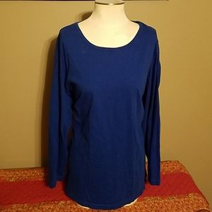 Woman Within 30/32 LS Shirt Plus Sized